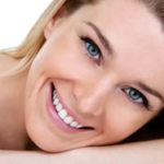 white teeth smiling lady