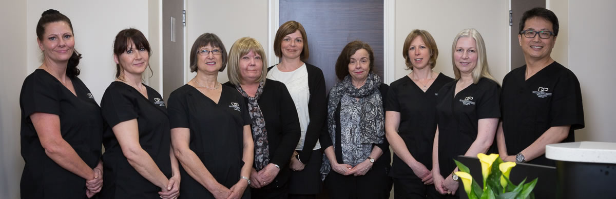 The team at Calverly Dental Practice